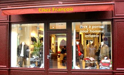 Chez François - Prêt à porter